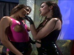 Buxom mistress Anastasia Pierce in some hot BDSM action