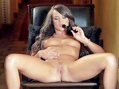 Teal Conrad is young and naughty. Brown haired brunette spreads