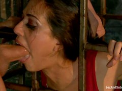 Sex Slave Lyla Storm Tortured and Fucked Hard in BDSM vid