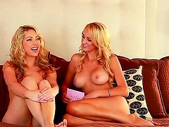 Brett Rossi is fervent and charming blonde bombshell with delicious boobs! Today