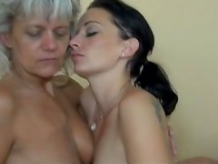 Grandma oral-fuckin cooter of A pussy