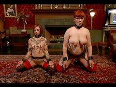 Submissive Redheads Play Kinky Games