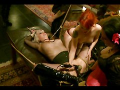 Kinky BDSM Role Playing with Ropes