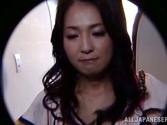Amateur Japanese Girl Gets Her Hairy Cunt Fingered and Fucked