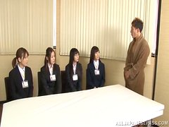 Reiko Nishimur give a hot sex lesson to her students
