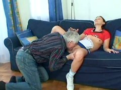 Yet sleepy harlot Kristyna gonna provide a gaffer with a reverse dick ride