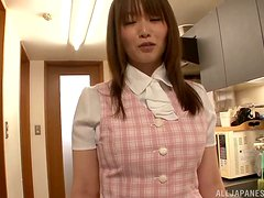 Office perversions with a booty Asian babe Hana