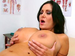 Full bodied mature slut is riding on a strong cock