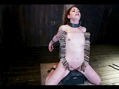 Hot Bondage Scene With Very Submissive Hottie