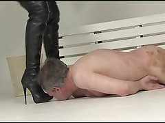 Clean Blondes Boots Femdom