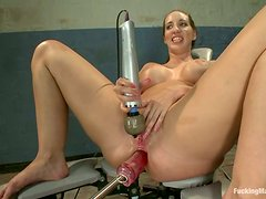 Delightful Kelly Divine gets her ass destroyed as usually