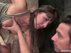 Hot Hardcore Fucking for Tied Up and Dominated Babe Monica Bellucci
