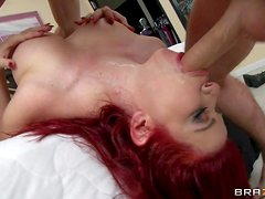Sarah Blake is s passionate hot blooded redheaded milf that