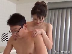 Passionate sex in the shower with a divine Asian lust