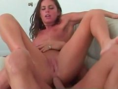 Naomi Russell rides manly cock with asshole