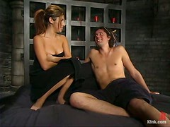 Pegging and Spanking in Femdom and Bondage by Sativa Rose