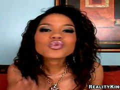 Carmella Santiago gifts her man with an amazing blowjob