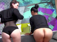 Dana Vespoli and her hot and arousing girl friend enjoy