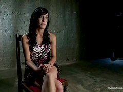 Elise Graves gets tortured with clothespins and gangbanged