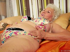 Afternoon Delight For A Filthy Old Fat Granny