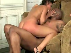 Black pussy destroyer is fucking seductive Indian girl