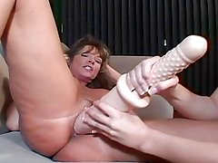 Old MILFs & Young Lesbians - Turning Straight Teen