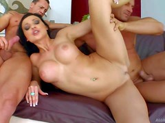 Aletta Ocean is a perfect bodied brunette with round ass