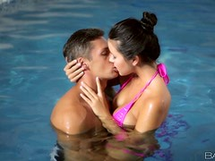 Swimming Babe Gets Horny With A Fellow Swimmer! This Bitch Is Good In And Out Of The Water!
