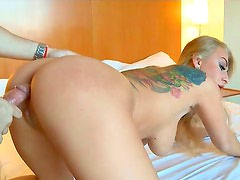 Superb Kayla Green enjoys hardcore