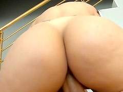 Big ass brunette in amazing hardcore