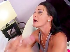 Sandra Romain hot mistress fucking hard for angry dick
