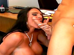 Mature Lisa Lipps with gigantic hooters and shaved