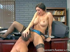Dylan Ryder is a big boobed milf that has unthinkable