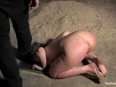 Amazing blonde chick sucks a dick and gets nailed