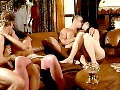 Babes fucking in vintage group session