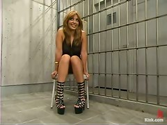 Stunning Latina Inmate Lorena Sanchez Dominated and Fucked by Policeman
