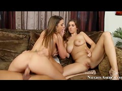 Brooklyn Chase and Alex Chance ride dick