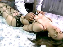 Japanese slut gets wild in BDSM