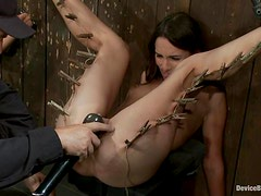 Toying and Torturing Two Hot Dominated and Bounded Babes