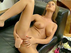 Antonya gets her orders from Rocco Siffredi and uses