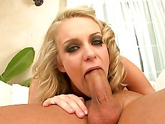 A great pov blowjob from the hot blonde Kensey Knox