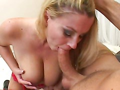 Titty fuck & bj from busty slut
