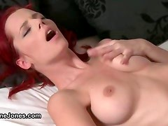 Sexy blonde babe goes crazy sucking