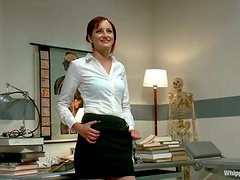 Lesbian Domination by Doctor Maitresse Madeline for Phoenix Askani