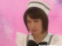Japanese Petite Teen Blowjob and Cum Eating