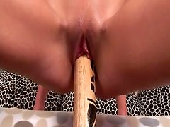 Hussy jade Avril is getting fisted in provocative XXX porn video