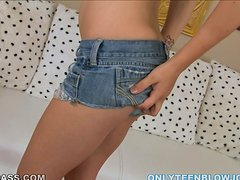 Outstanding Blowjob by Gorgeous Lustful Teen Maryjane Johnson in POV
