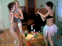 Hussy chick Bridal arranges hardcore birthday party