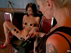 Spanking scene with Breanne Benson and Lorelei Lee