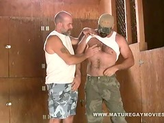 Two Bear Daddies Fuck In The Barn